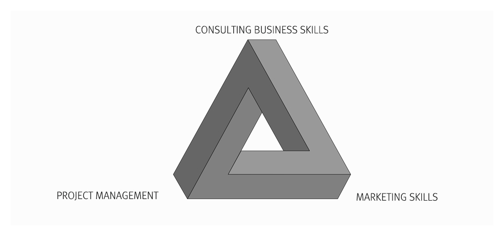 The Triangle of Skills for Your Independent Consulting Business